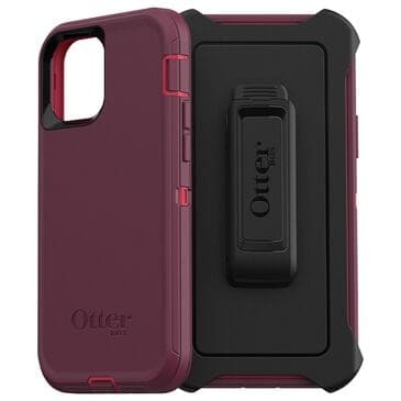 Otterbox Defender Case For Apple iPhone 12 / 12 Pro in Berry Potion, , large