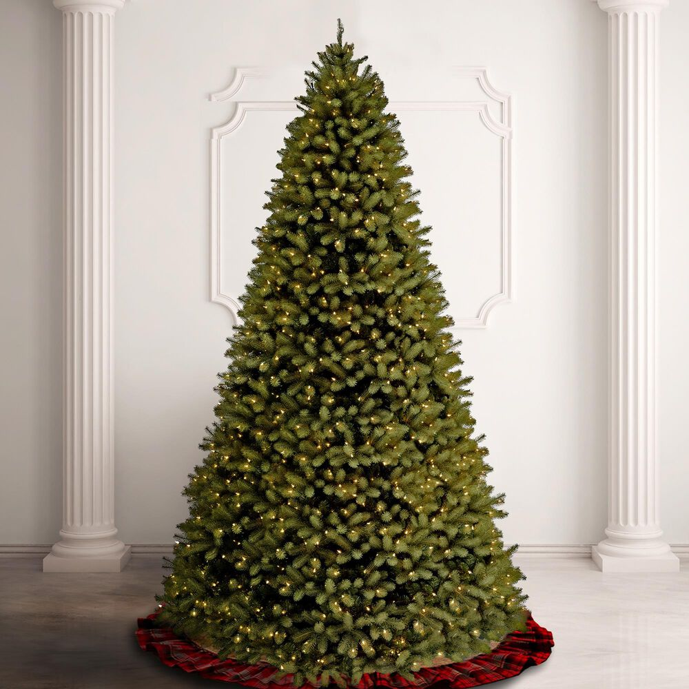 National Tree 10' Downswept Douglas Fir Tree with Dual Color LED Lights and PowerConnect, , large