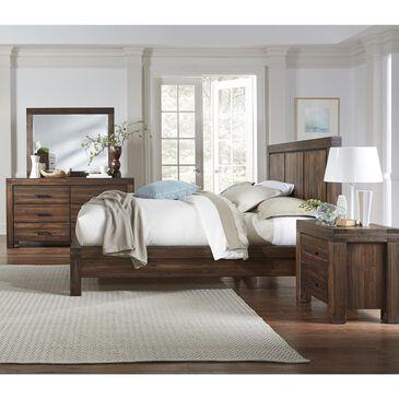 Urban Home Meadow 4 Piece Queen Bedroom Set in Brick Brown, , large