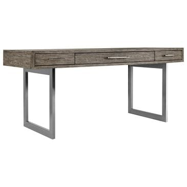 Hooker Furniture Curata Leg Desk in Medium Wood, , large