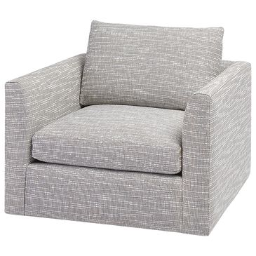 Massoud Zane Chair in Montauk Grey, , large