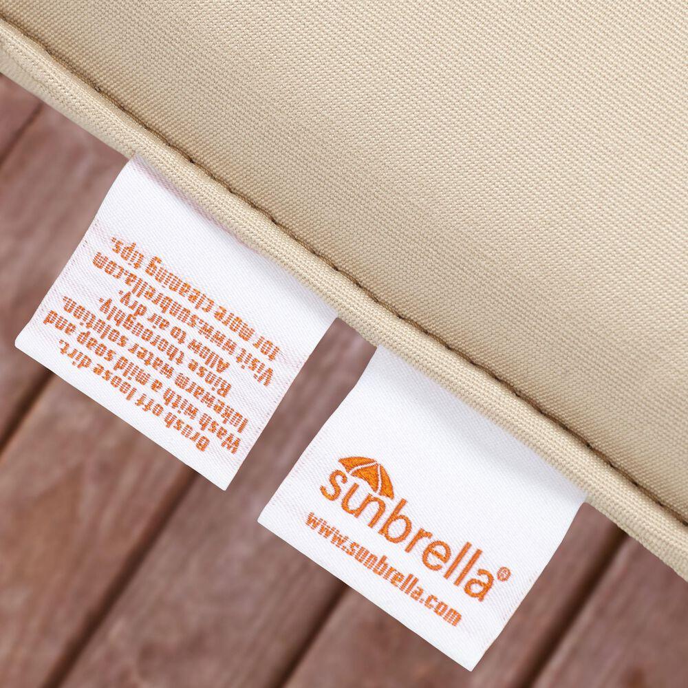 "Sorra Home Sunbrella 22.5"" Deep Seating Cushion in Canvas Natural, , large"
