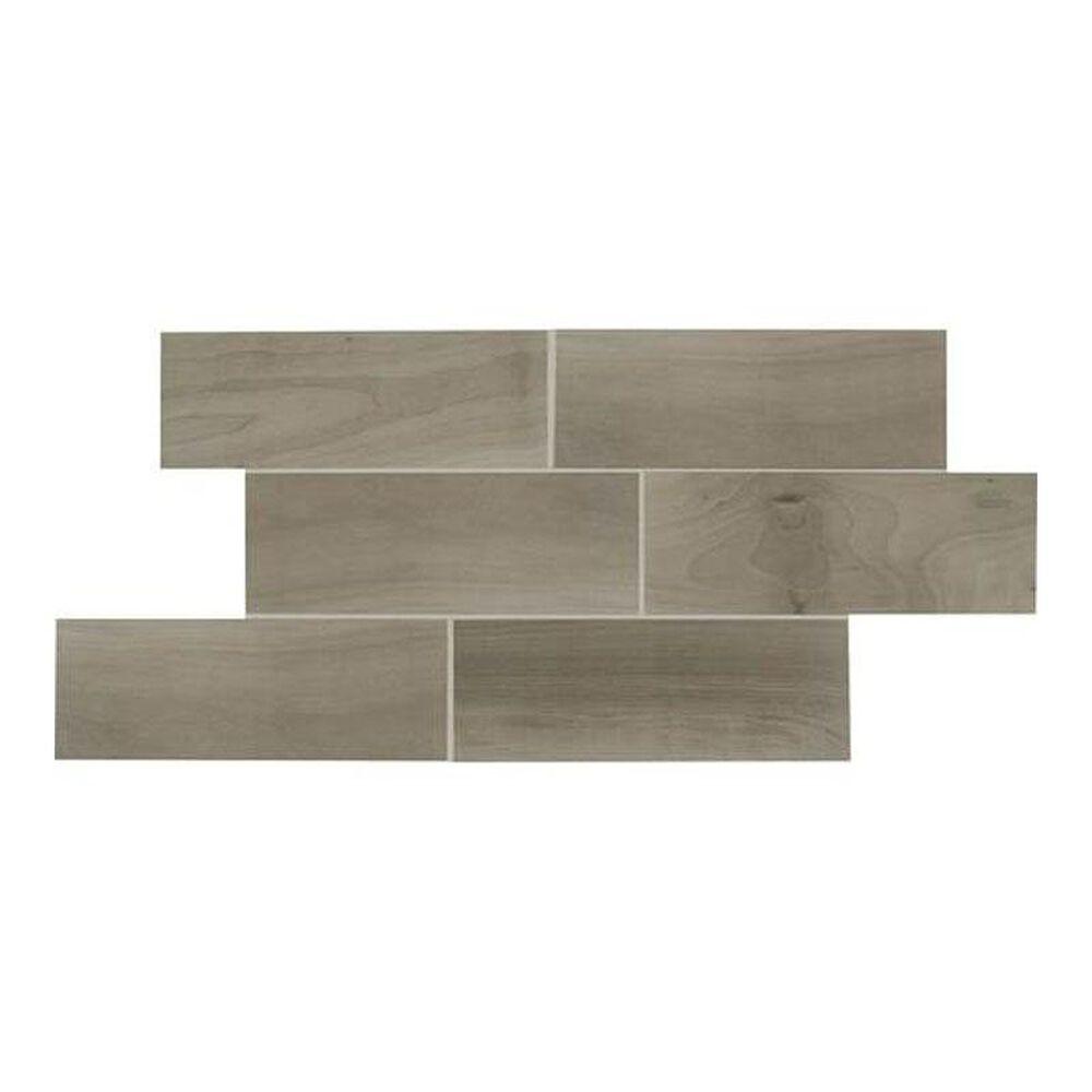 """Dal-Tile Emblem Gray 7"""" x 20"""" Ceramic Tile, , large"""