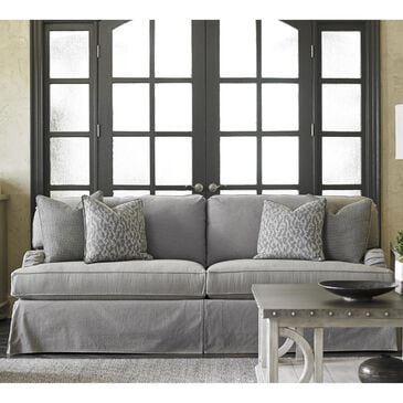 Lexington Furniture Oyster Bay Stowe Slipcover Sofa in Gray, , large