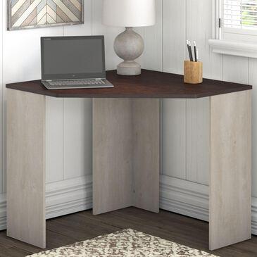 Bush Townhill Corner Desk in Washed Gray, , large