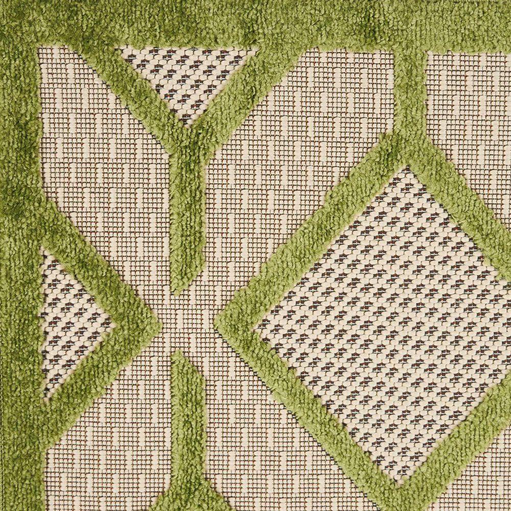 "Nourison Aloha ALH03 9'6"" x 13' Green Area Rug, , large"