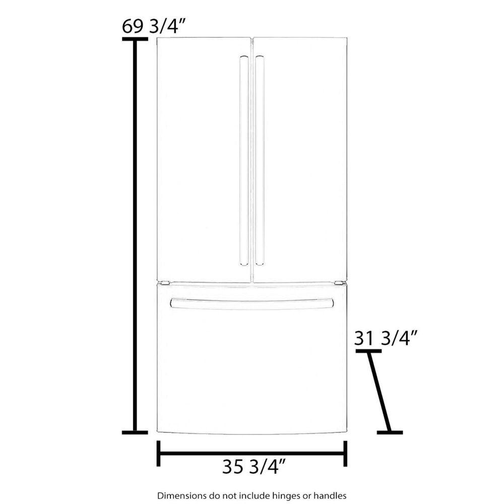 LG 27 Cu. Ft. French Door Refrigerator Instaview Door-in-Door Stainless Steel, , large