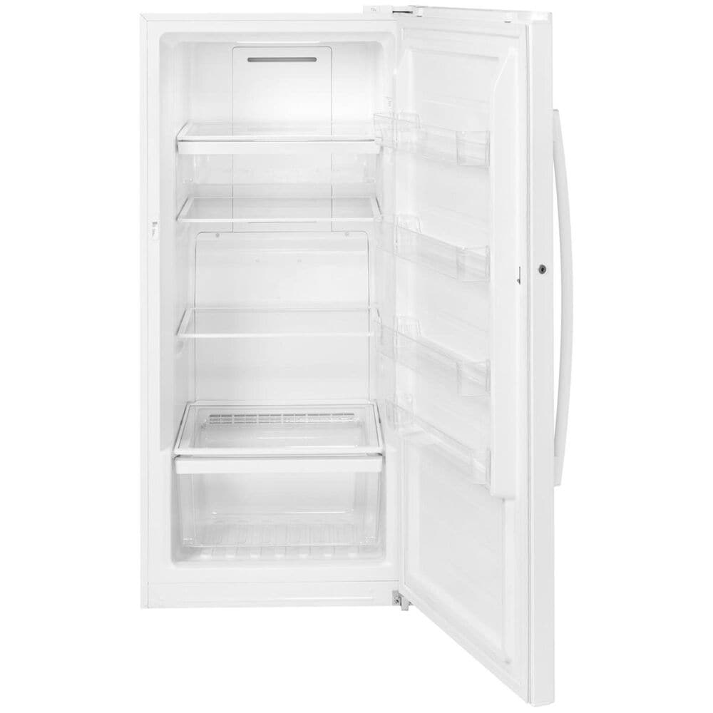 GE Appliances 14.1 Cu. Ft. Frost-Free Upright Freezer in White, , large