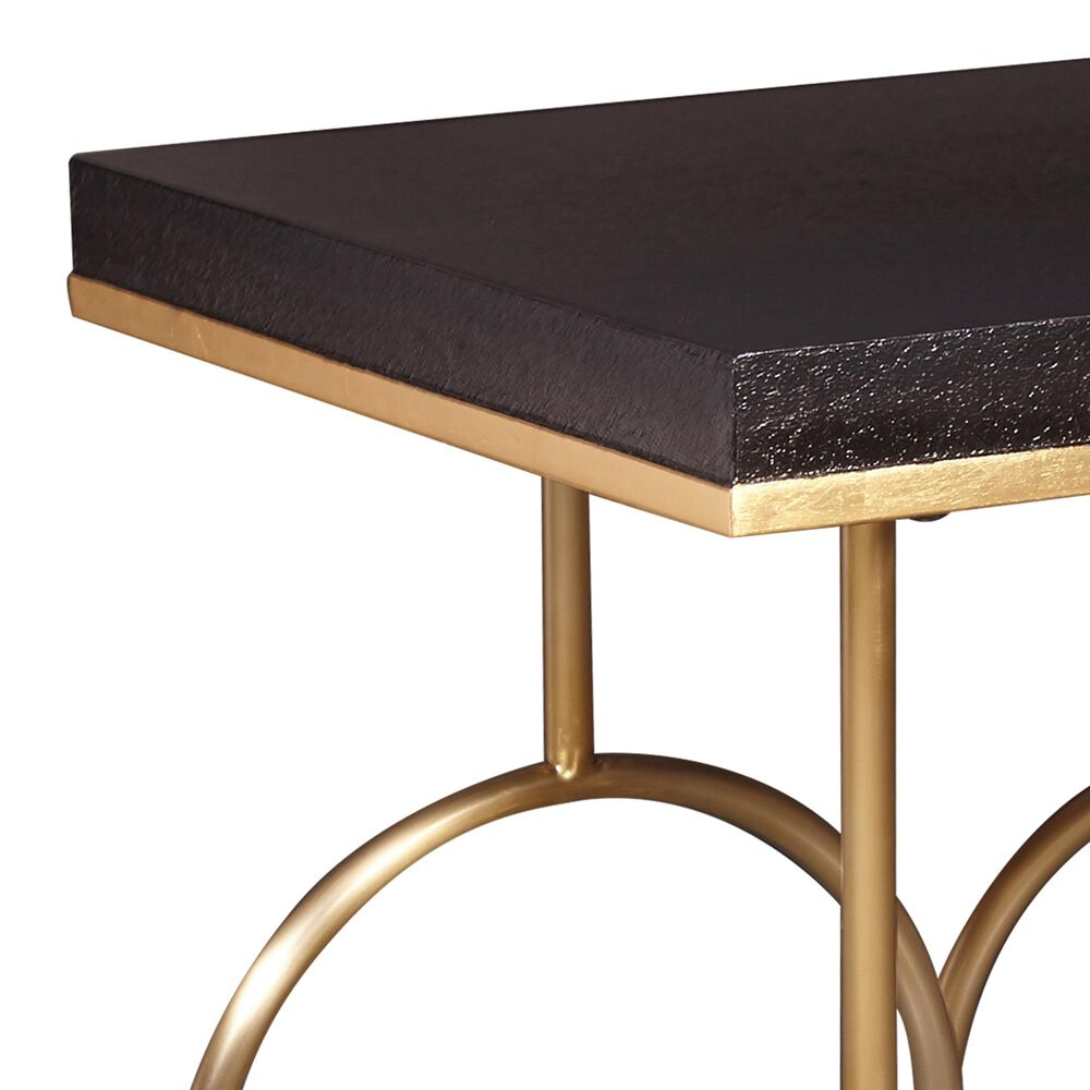 Accentric Approach End Table in Gold, , large