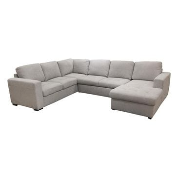 Tuscany Grove Claire 3-Piece Sleeper Sectional in Popstitch Dove, , large
