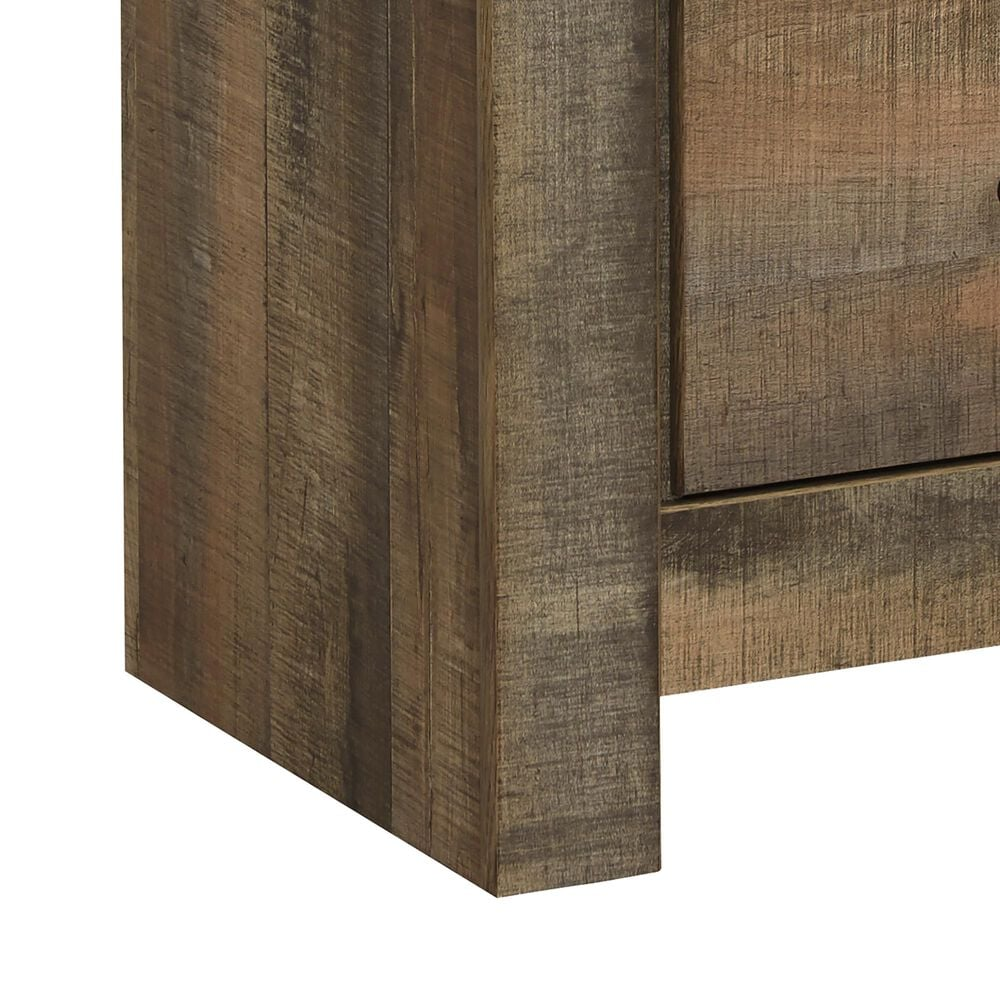 Signature Design by Ashley Trinell 1 Drawer Nightstand in Brown, , large