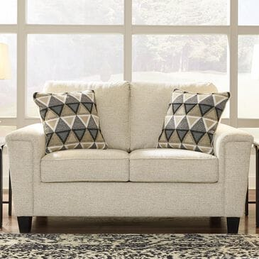 Signature Design by Ashley Abinger Loveseat in Natural, , large