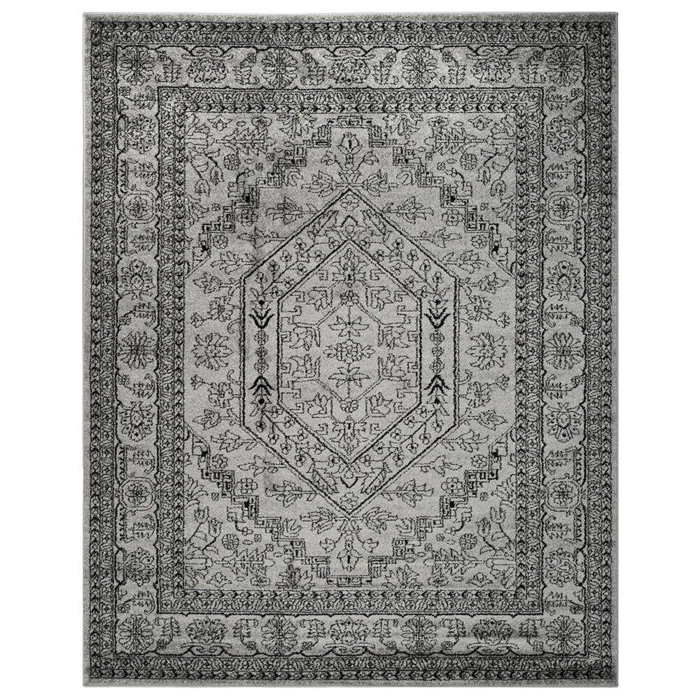 Safavieh Adirondack ADR108A-10 10' x 14' Silver/Black Area Rug, , large