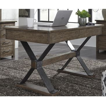 Belle Furnishings Sonoma Road Writing Desk in Weathered Bark, , large