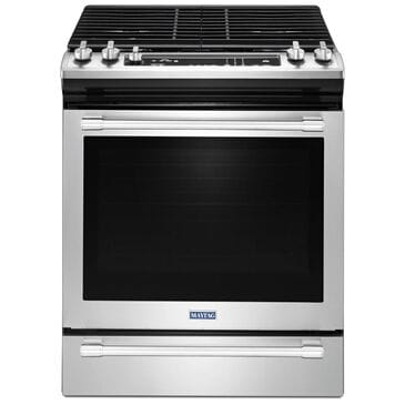 Maytag 5.8 Cu. Ft. Slide-In Gas Range with True Convection in Stainless Steel, , large