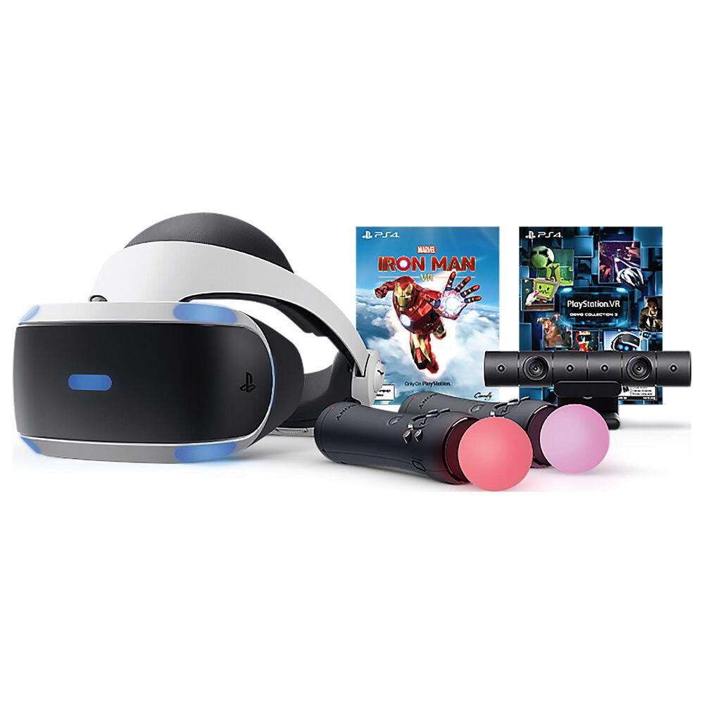 PlayStation VR Marvel's Iron Man VR Bundle in Black, , large