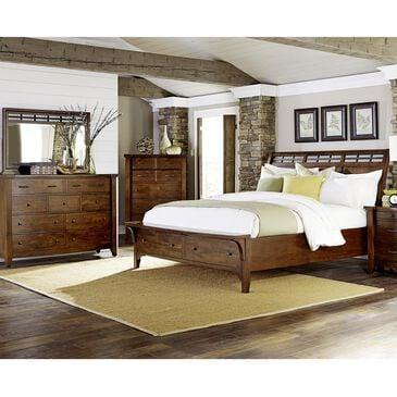 Napa Furniture Design Whistler Retreat 3 Piece Queen Bedroom Set in Dark Mango, , large
