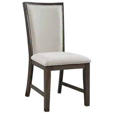 Mayberry Hill Grady Slat Back Side Chair in Warm Cocoa, , large