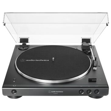 Audio-Technica Fully Automatic Wireless Belt-Drive Turntable with Bluetooth and USB in Black, , large