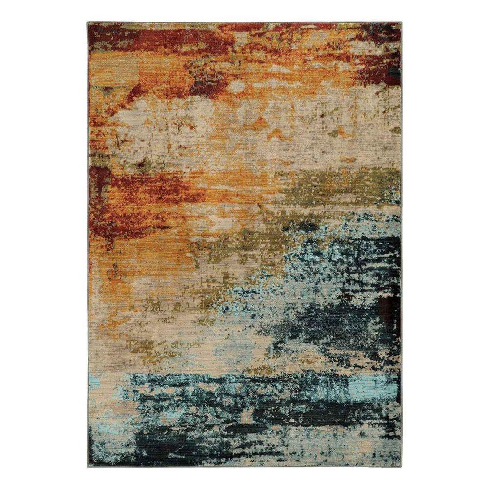 "Oriental Weavers Sedona 6365A 1'10"" x 3' Blue Area Rug, , large"