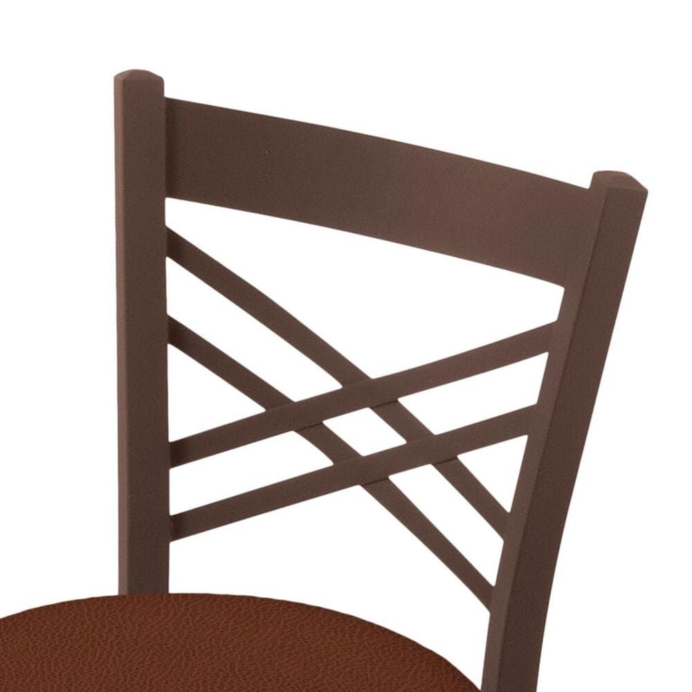"""Holland Bar Stool 620 Catalina 18"""" Chair with Bronze and Rein Adobe Seat, , large"""