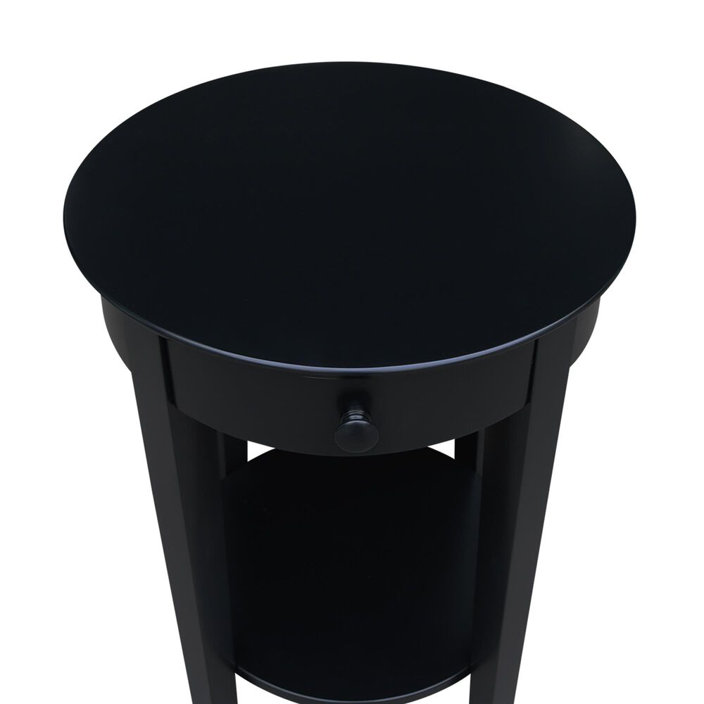 International Concepts Phillips Accent Table in Black, , large