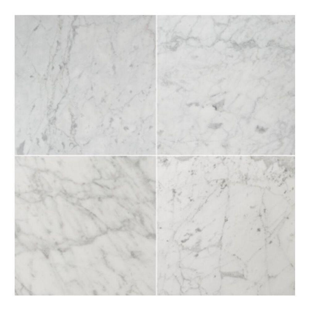 "Emser Marble Bianco Gioia 18"" x 18"" Nantes Natural Stone Tile, , large"