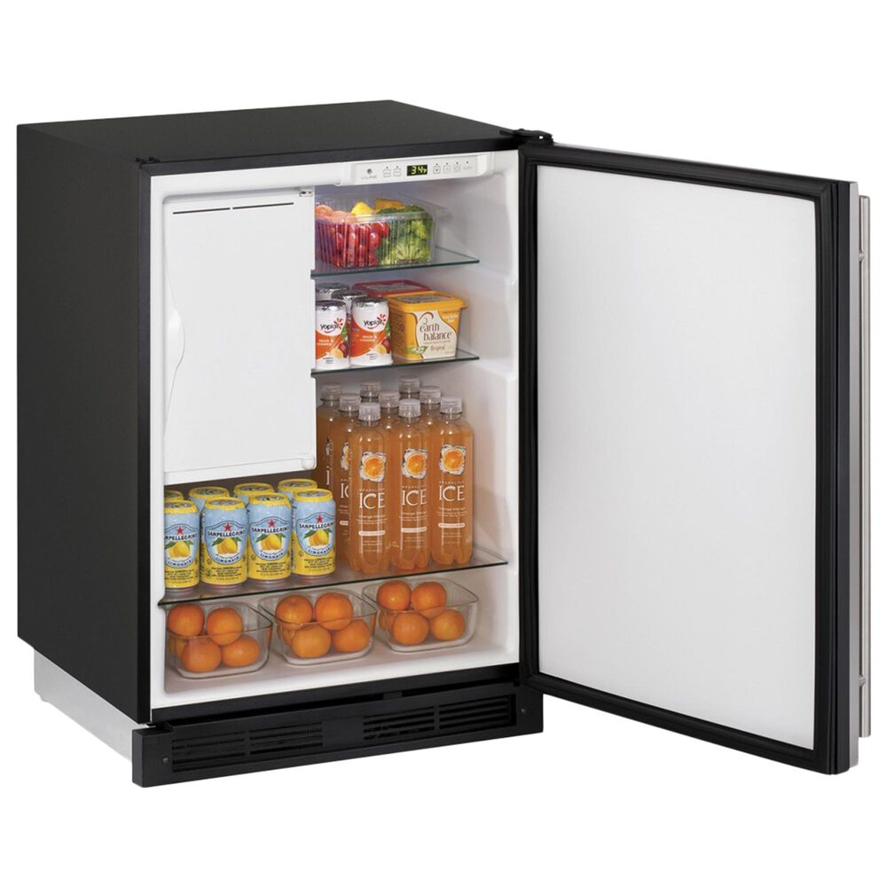 """U-Line 24"""" Built-in Refrigerator/Freezer Combo in Stainless Steel, , large"""