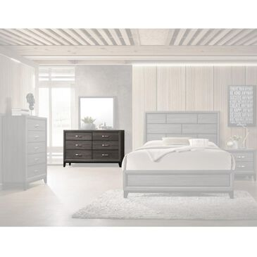 Claremont Akerson 6 Drawer Dresser in Grey, , large
