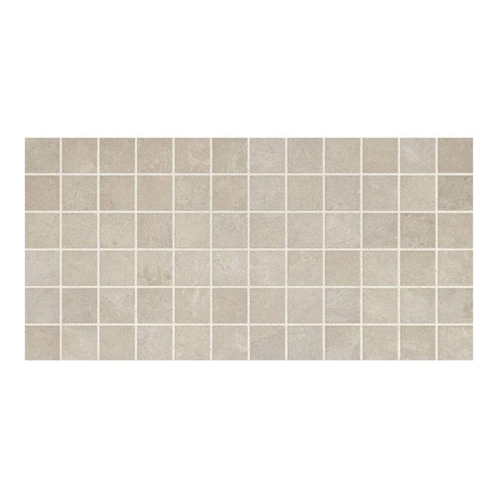 "Dal-Tile Affinity Gray 12"" x 24"" Porcelain Mosaic Sheet, , large"