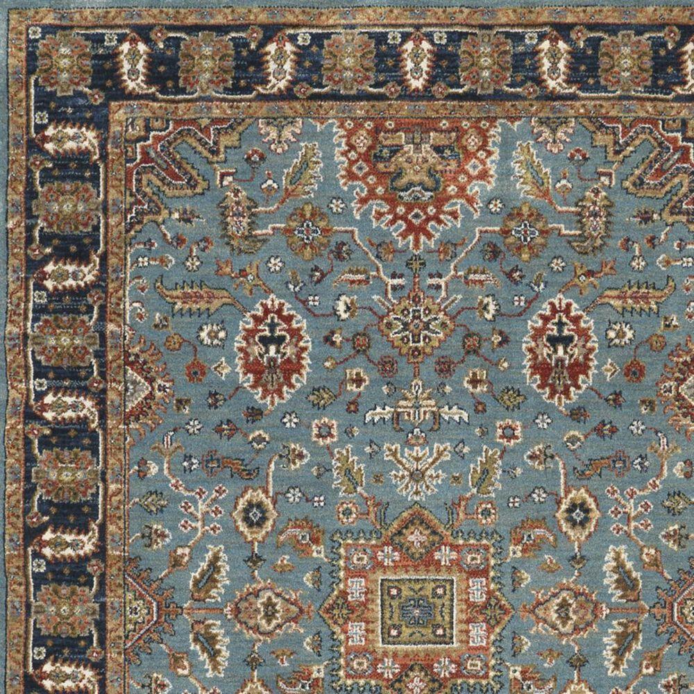 "Karastan Spice Market Deir 90665-50123 9'6"" x 12'11"" Aqua Area Rug, , large"