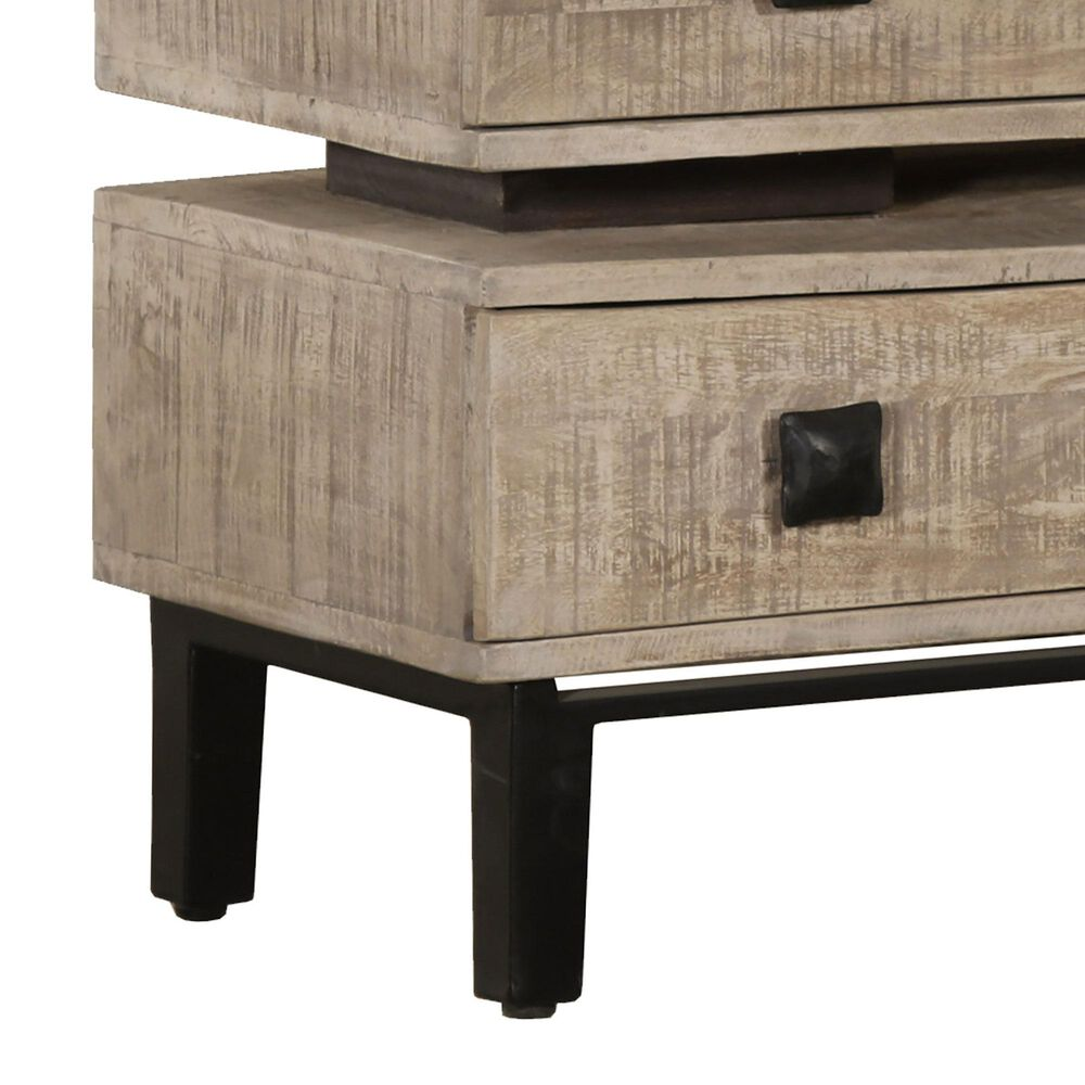 Accentric Approach 3-Drawer Accent Chest in Beige, , large