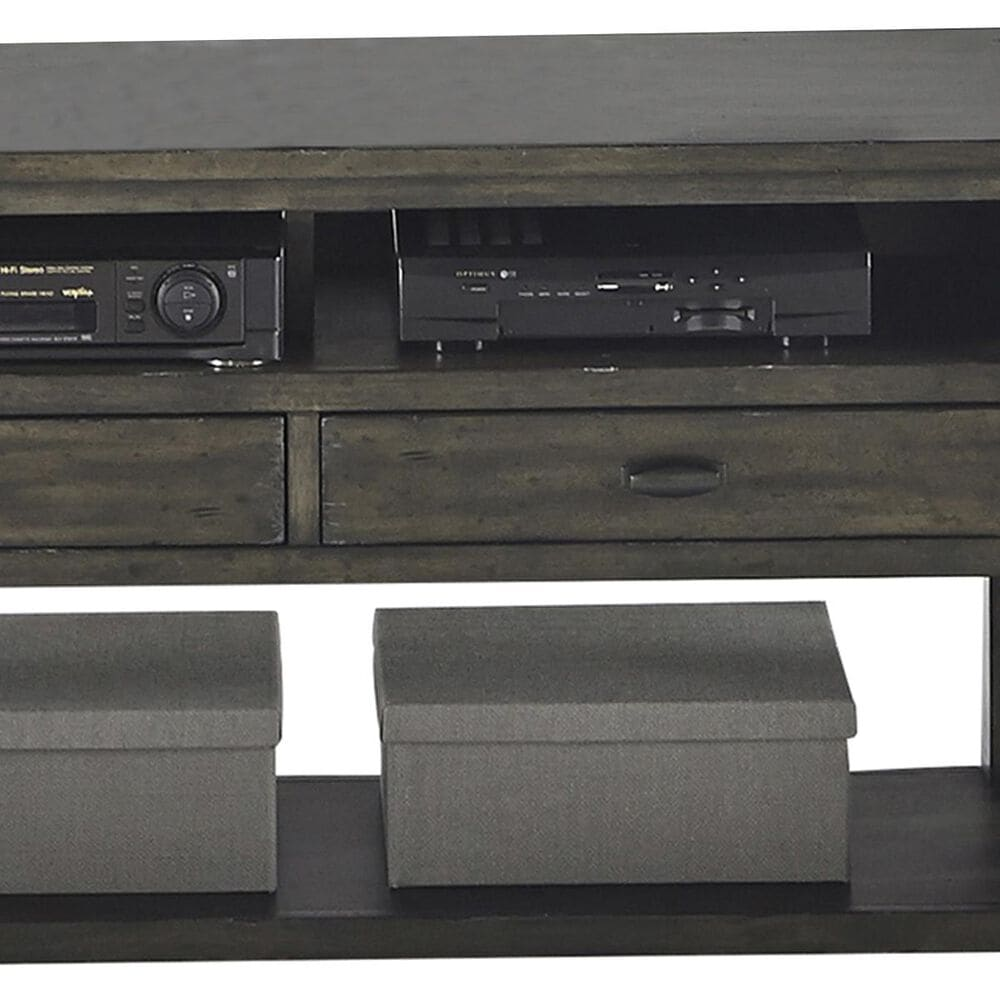 Tiddal Home Crossroads Entertainment Console in Smokey gray, , large