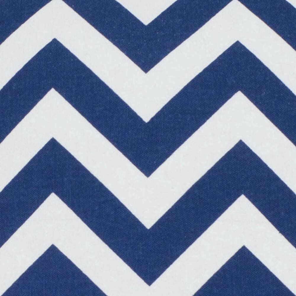 """Rizzy Home 18"""" x 18"""" Down Pillow in Blue, , large"""