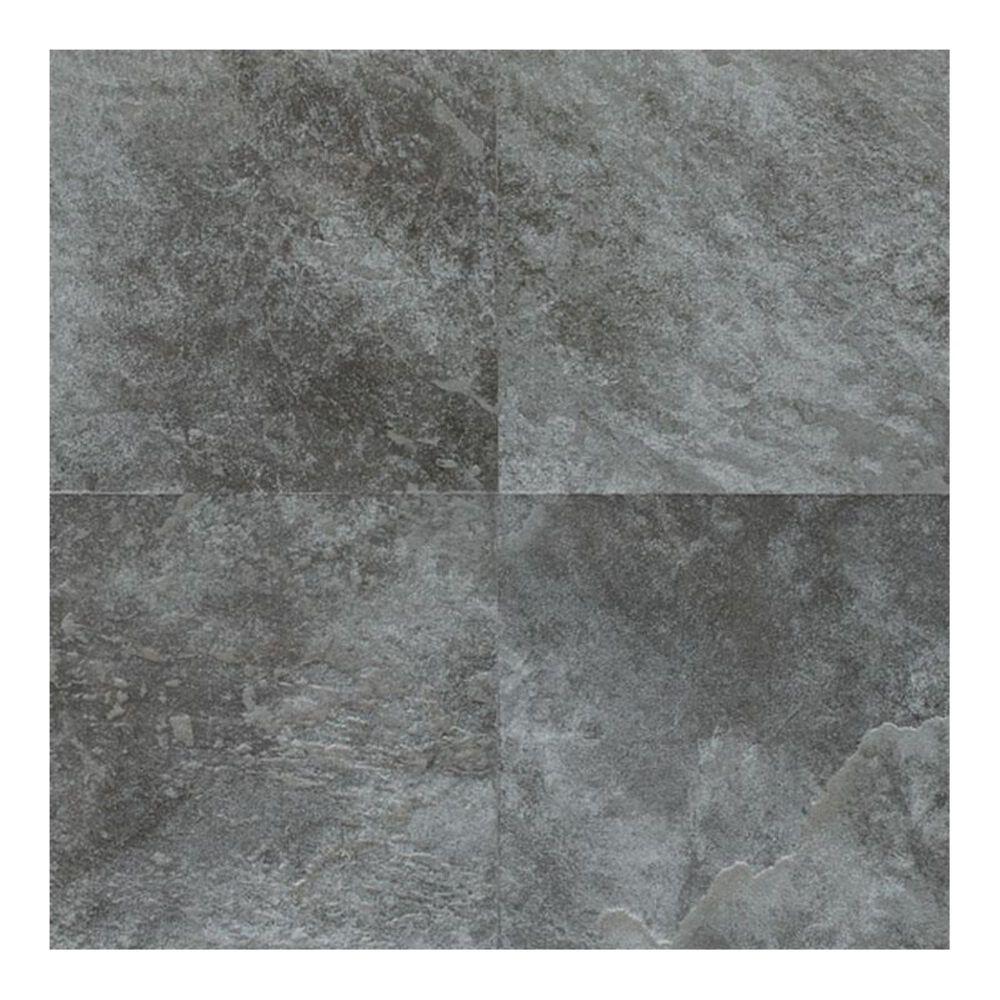 "Dal-Tile Continental Slate English Grey 12"" x 12"" Porcelain Tile, , large"