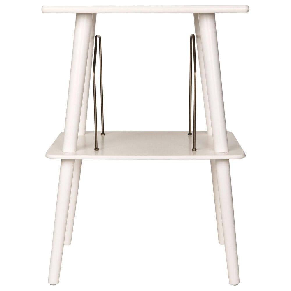 Crosley Furniture Manchester Turntable Stand in White, , large