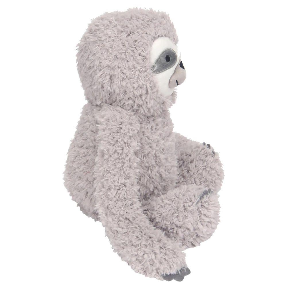 Lambs and Ivy Sloth Plush Stuffed Animal Toy in Gray, , large