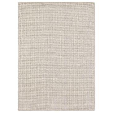 Karastan Labyrinth RG179-512 8' x 10' Meander Silver Birch Area Rug, , large