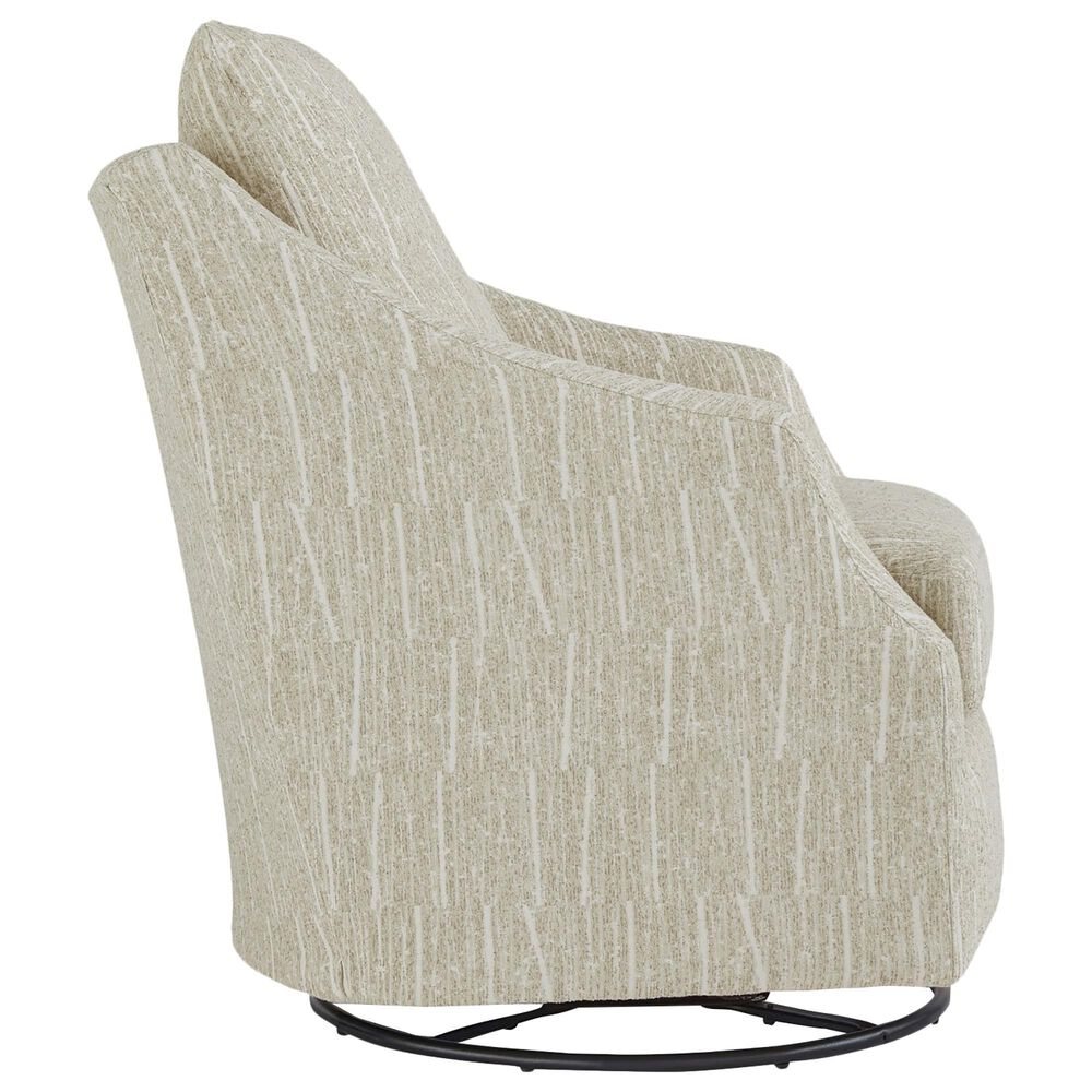 Best Home Furnishings Flutter Swivel Glider Chair in Natural, , large