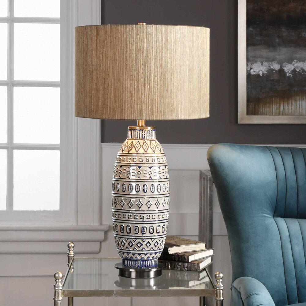 Uttermost Lokni Table Lamp, , large
