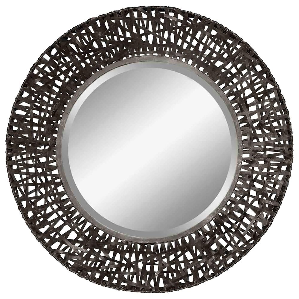 Uttermost Alita Mirror in Black, , large