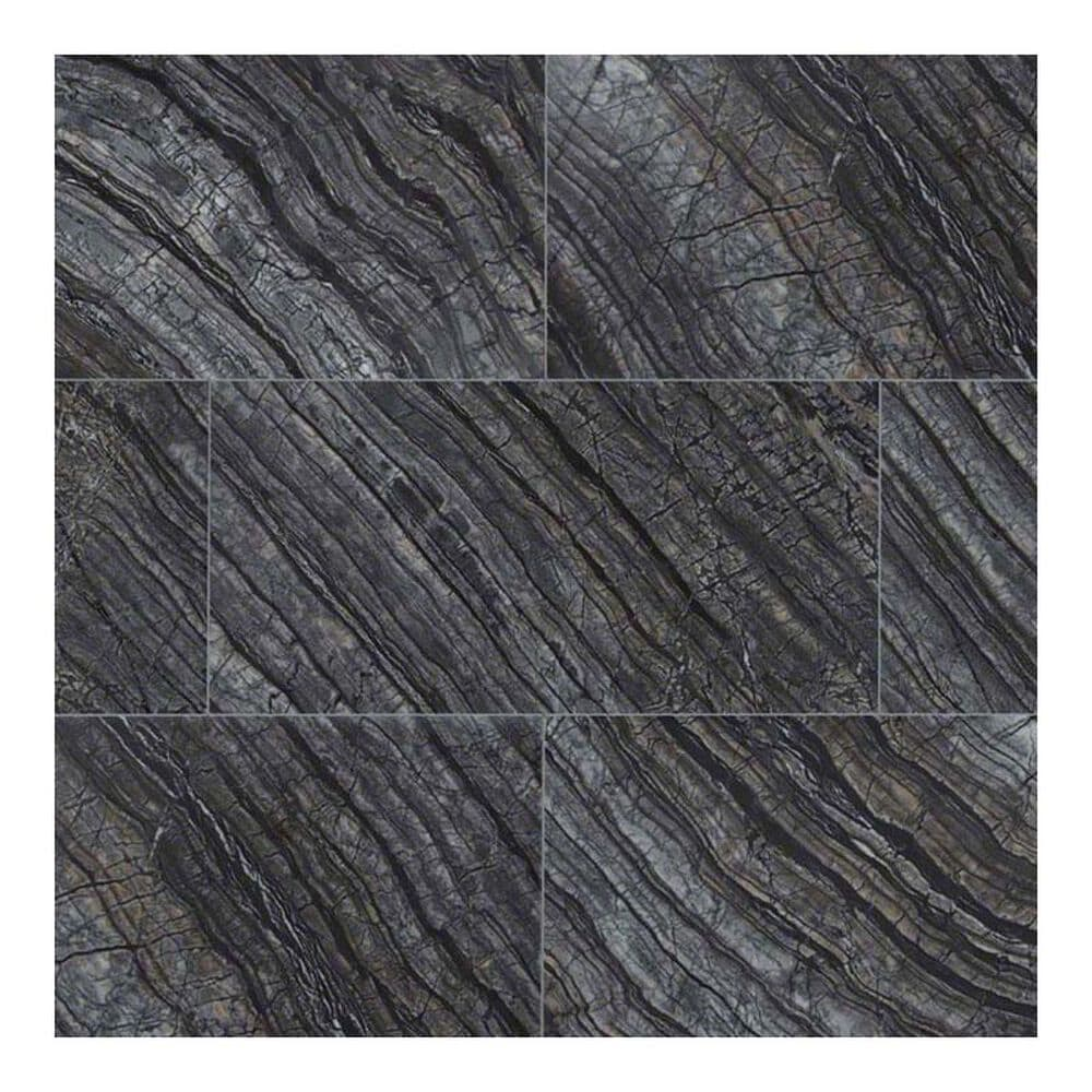"MS International Black Oak 12"" x 24"" Natural Stone Tile, , large"