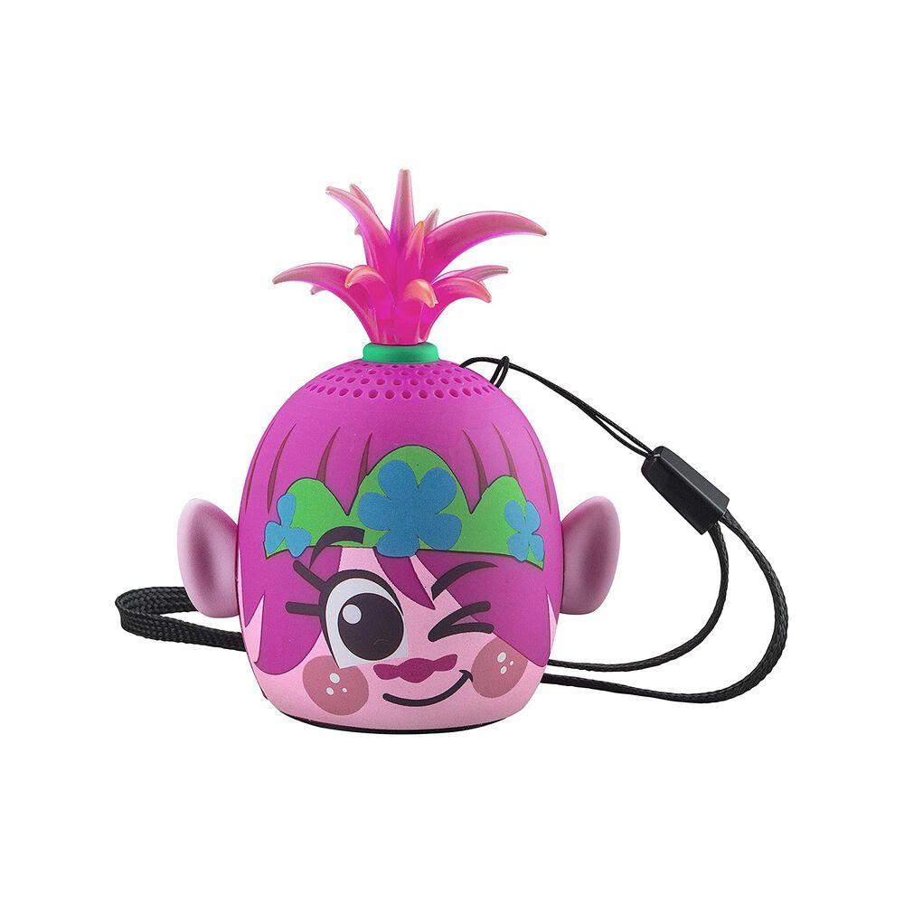 eKids Trolls World Tour Bluetooth Mini Character Speaker in Pink, , large