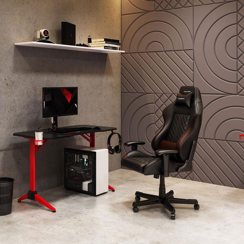CorLiving Conqueror Gaming Desk in Black, , large