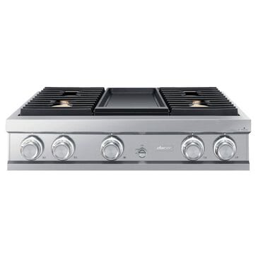 """Dacor 36"""" Modernist Series Liquid Propane Gas Rangetop with 4 Sealed Cooktop Burners in Stainless Steel, , large"""