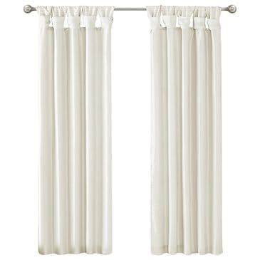 "Hampton Park Emilia 50"" x 84"" Window Curtain in White, , large"