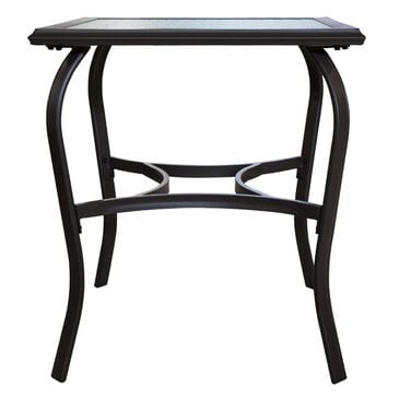 "Loni Birch 25"" Square Glass Bistro Table in Bronze, , large"