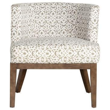 Regal Co. Accent Chair in Gray and White, , large