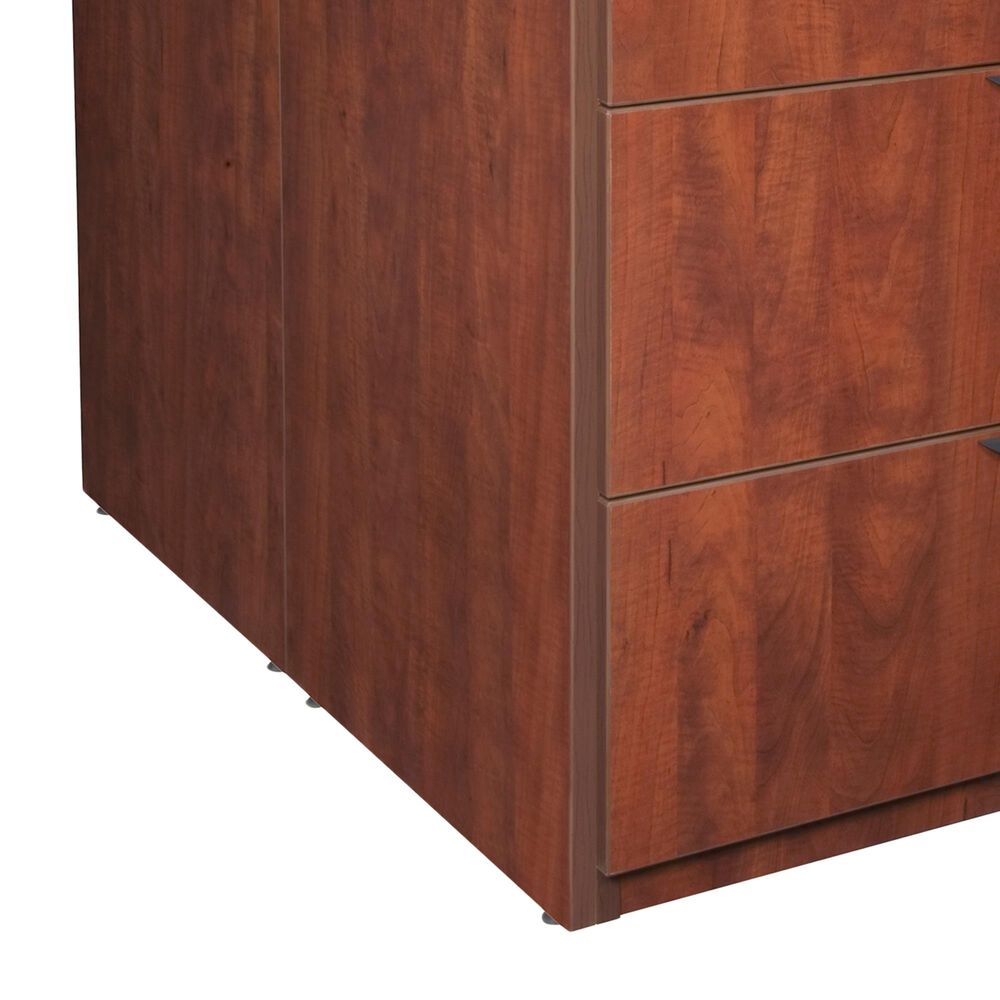Regency Global Sourcing Legacy Stand Up Back to Back Lateral File & Desk in Cherry, , large