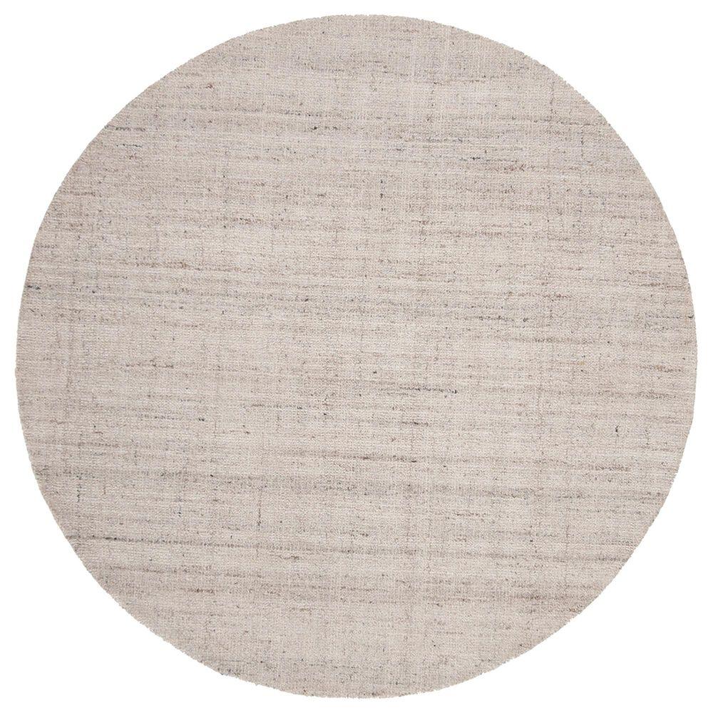 Safavieh Abstract 6' Round Light Grey Area Rug, , large